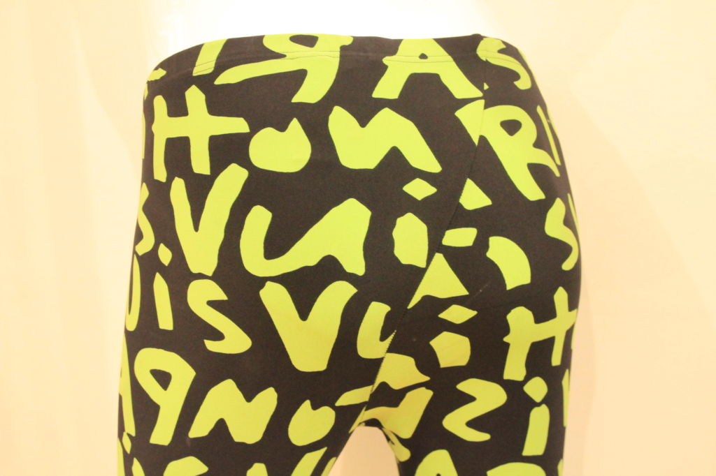 LOUIS VUITTON LIMITED EDITION SPROUSE GRAFFITI LEGGINGS -SZ 36 image 7