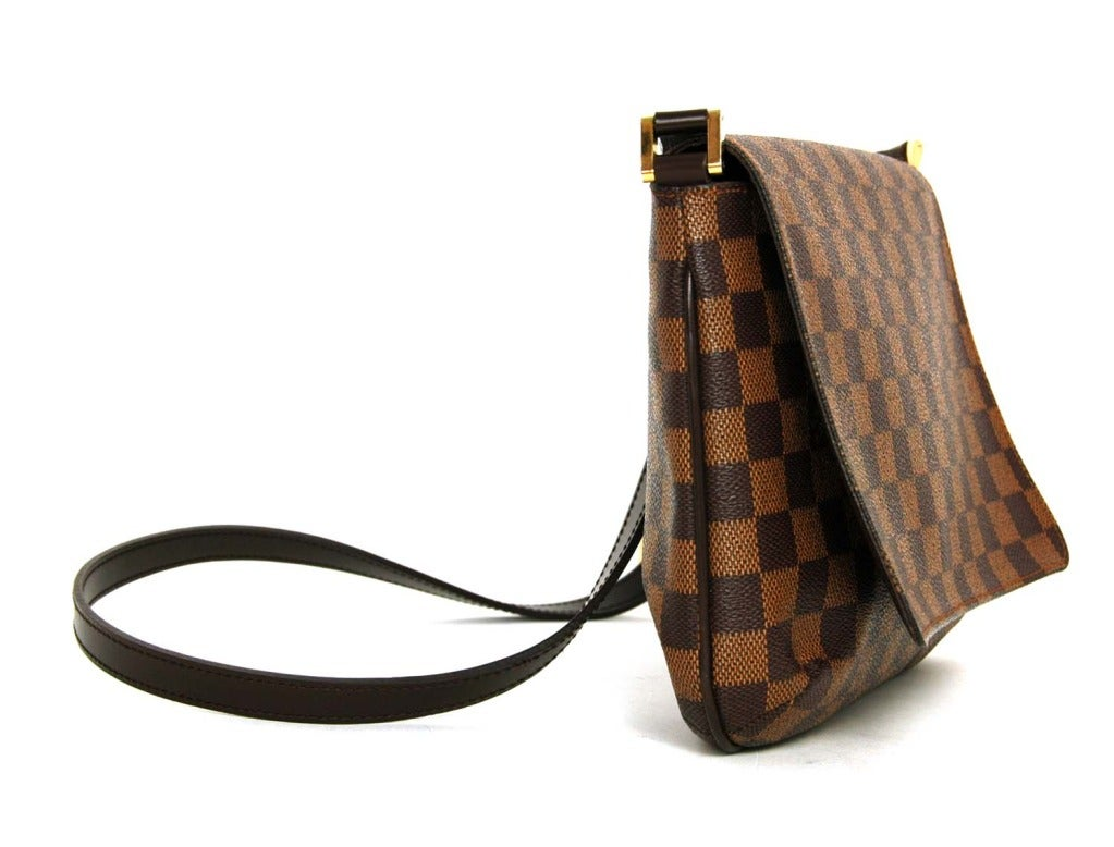 Louis Vuitton Damier Crossbody Musette Flap Bag At 1stdibs
