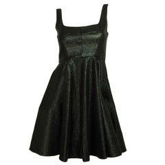 JILL STUART Pewter Flare Sleeveless Dress SZ - 2