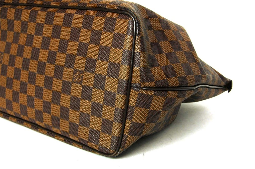LOUIS VUITTON Brown Damier Check Canvas 'Westminster GM' Tote c. 2012 5