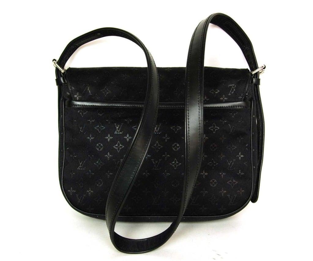 Louis Vuitton Black Mini Lin Conte Des Fees Quot Musette