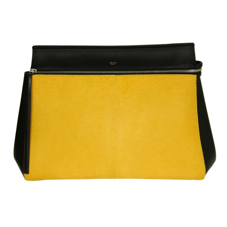 black celine edge bag