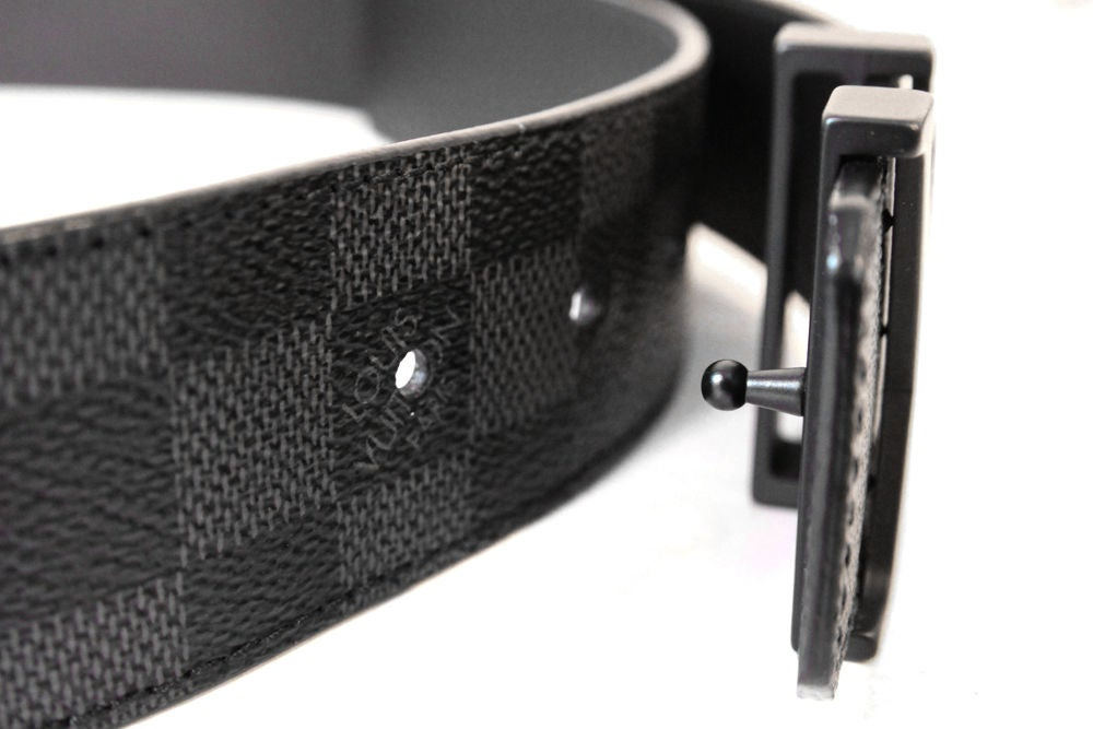 lv damier belt made in france