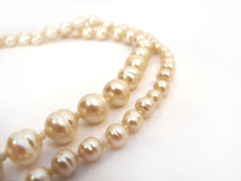 Chanel pearl necklace (1991) image 3