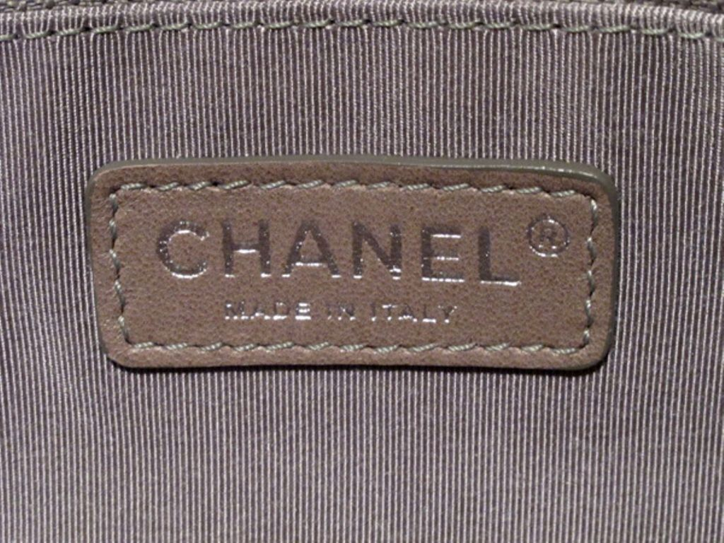 Chanel Purple Mauve Two Tone Quilted Leather Flap Bag 8