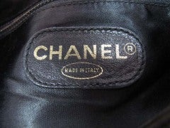 CHANEL Black Leather Backpack With Gold Hardware thumbnail 7