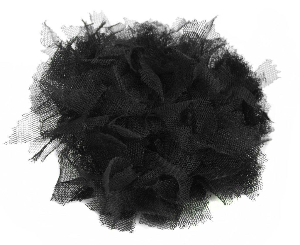 CHANEL Black Lace Brooch image 2