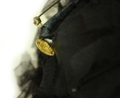 CHANEL Black Lace Brooch thumbnail 3