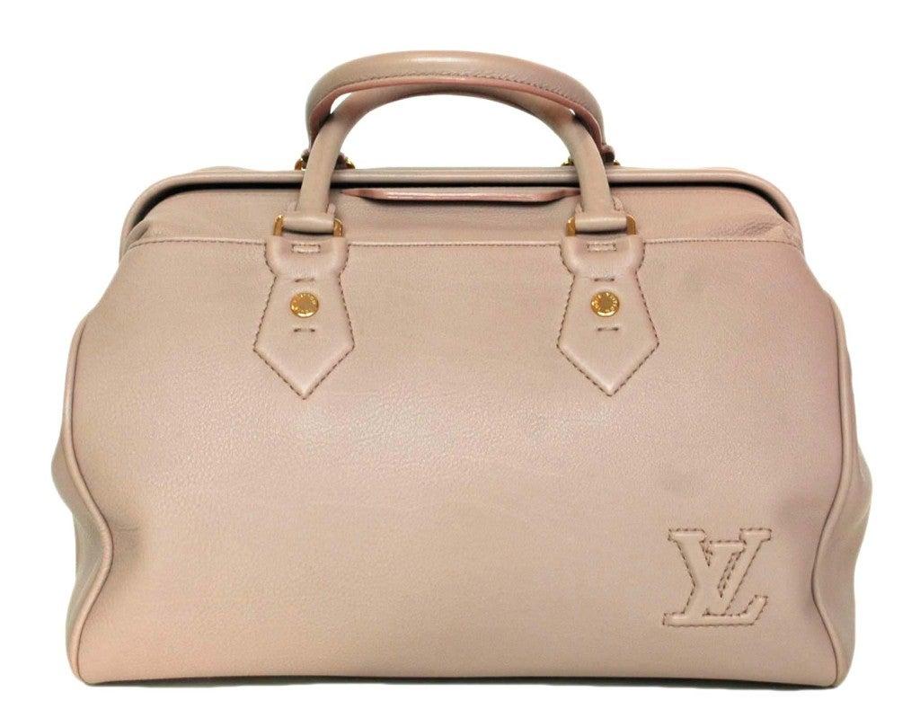 """LOUIS VUITTON Lavender Leather LTD Edition """"Cinema Intrigue"""" Bag 1"""
