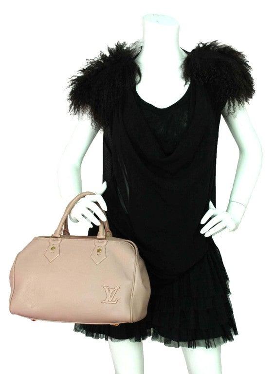 """LOUIS VUITTON Lavender Leather LTD Edition """"Cinema Intrigue"""" Bag 10"""