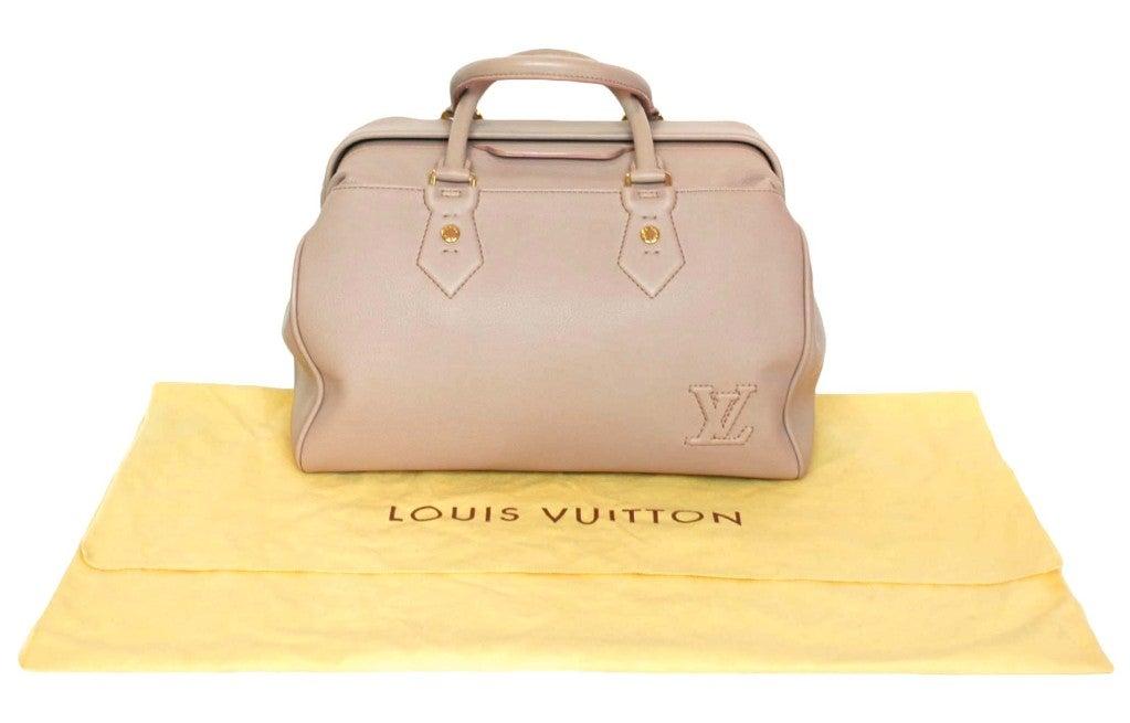 """LOUIS VUITTON Lavender Leather LTD Edition """"Cinema Intrigue"""" Bag 4"""