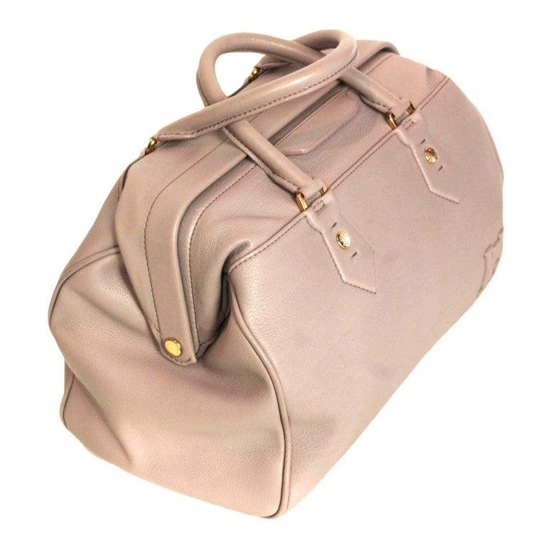"""LOUIS VUITTON Lavender Leather LTD Edition """"Cinema Intrigue"""" Bag 2"""