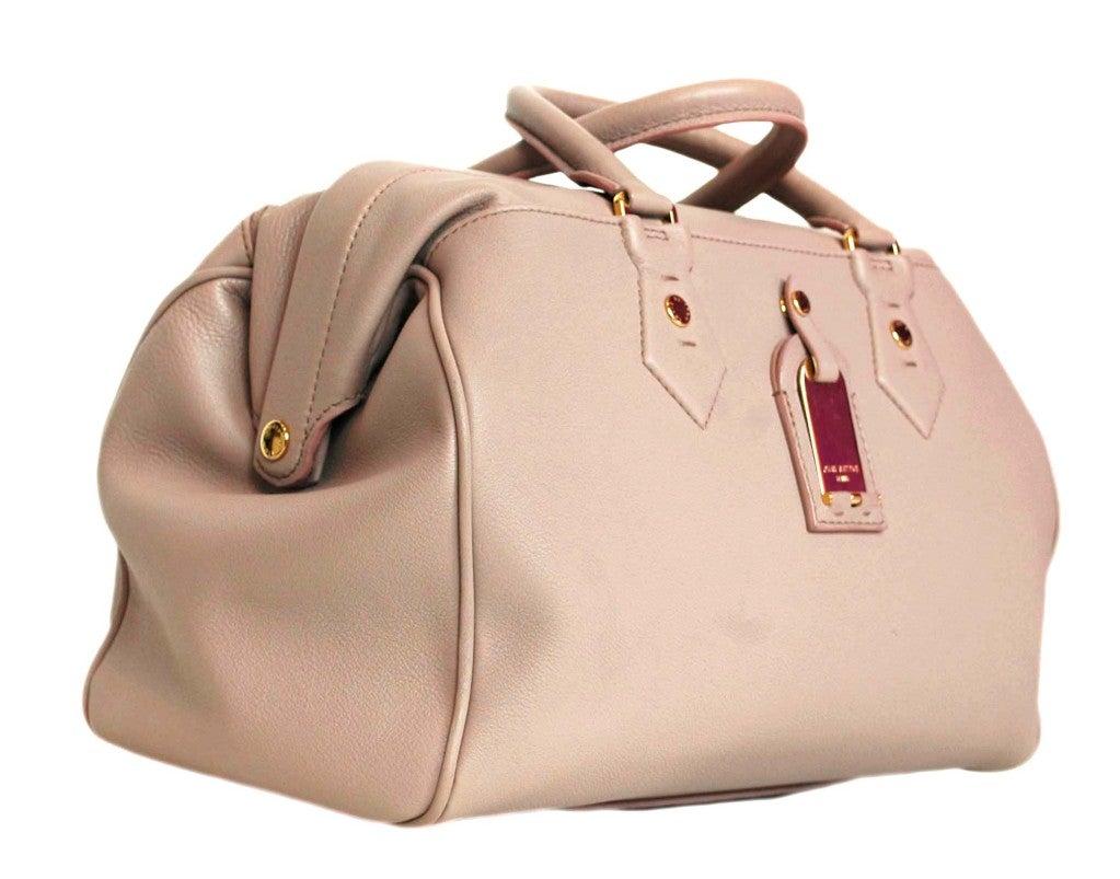 """LOUIS VUITTON Lavender Leather LTD Edition """"Cinema Intrigue"""" Bag 3"""
