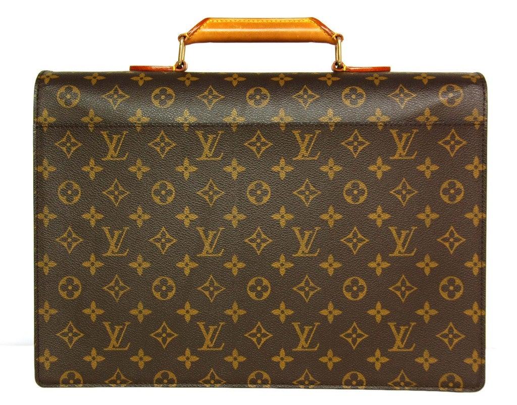 LOUIS VUITTON Monogram Serviette Conseiller Briefcase 4