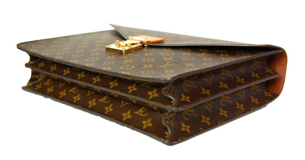 LOUIS VUITTON Monogram Serviette Conseiller Briefcase 5