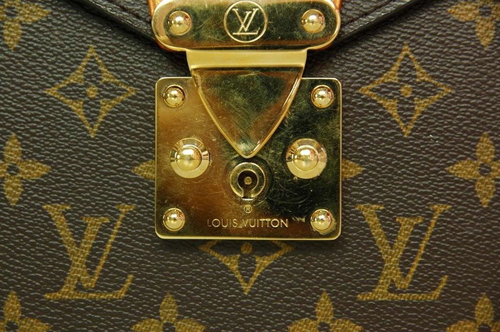 LOUIS VUITTON Monogram Serviette Conseiller Briefcase 6