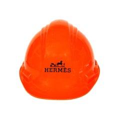 HERMES Orange LTD Edition Hard Hat