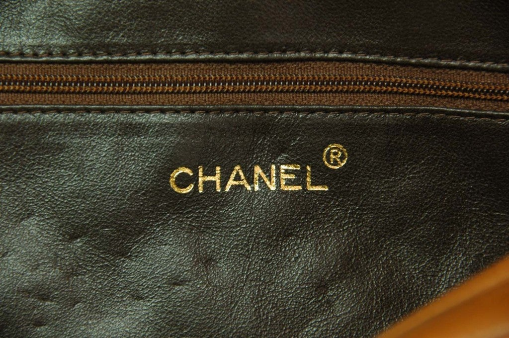 8783c638c7c4 CHANEL Caramel Quilted Leather Camera Bag With Tassel For Sale 4