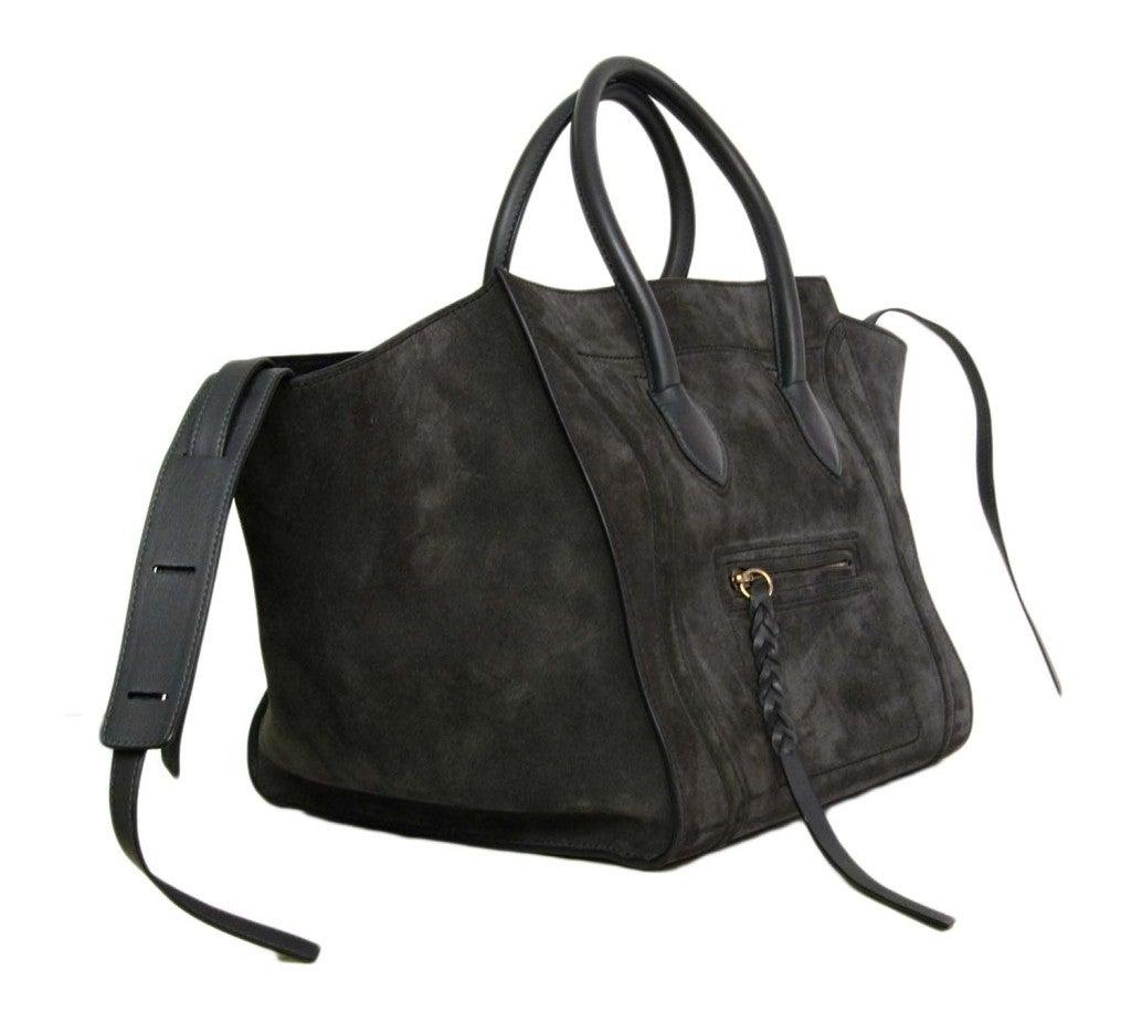 authentic celine luggage bag - celine white leather handbag luggage phantom
