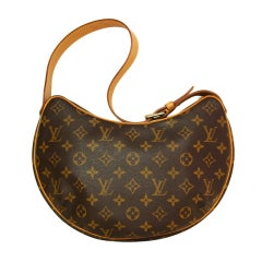 LOUIS VUITTON Monogram Croissant Shoulder Bag