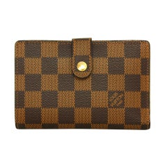 LOUIS VUITTON Damier French Purse Wallet rt. $710