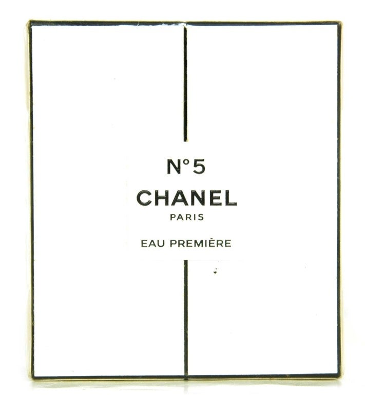 """CHANEL Catwalk Limited Edition Eau Premiere .2 Oz Perfume      Length: 3 1/2""""     Height: 4""""     Width: 1 1/2""""     New In Box."""