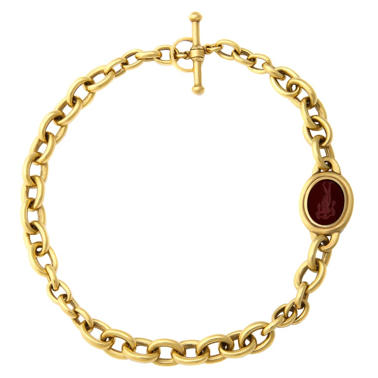 barry kieselstein cord gold necklace at 1stdibs