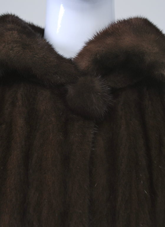 LUXURIOUS MAHOGANY MINK COAT 8