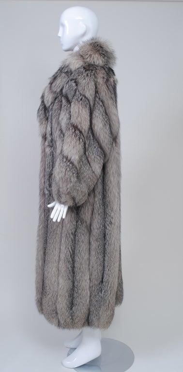 Women's SILVER FOX COAT For Sale