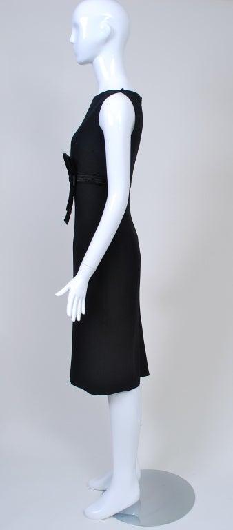 Women's Gianfranco Ferré Black Crepe LBD For Sale