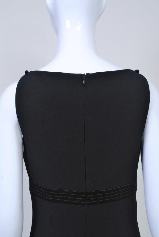 Gianfranco Ferré Black Crepe LBD For Sale 3