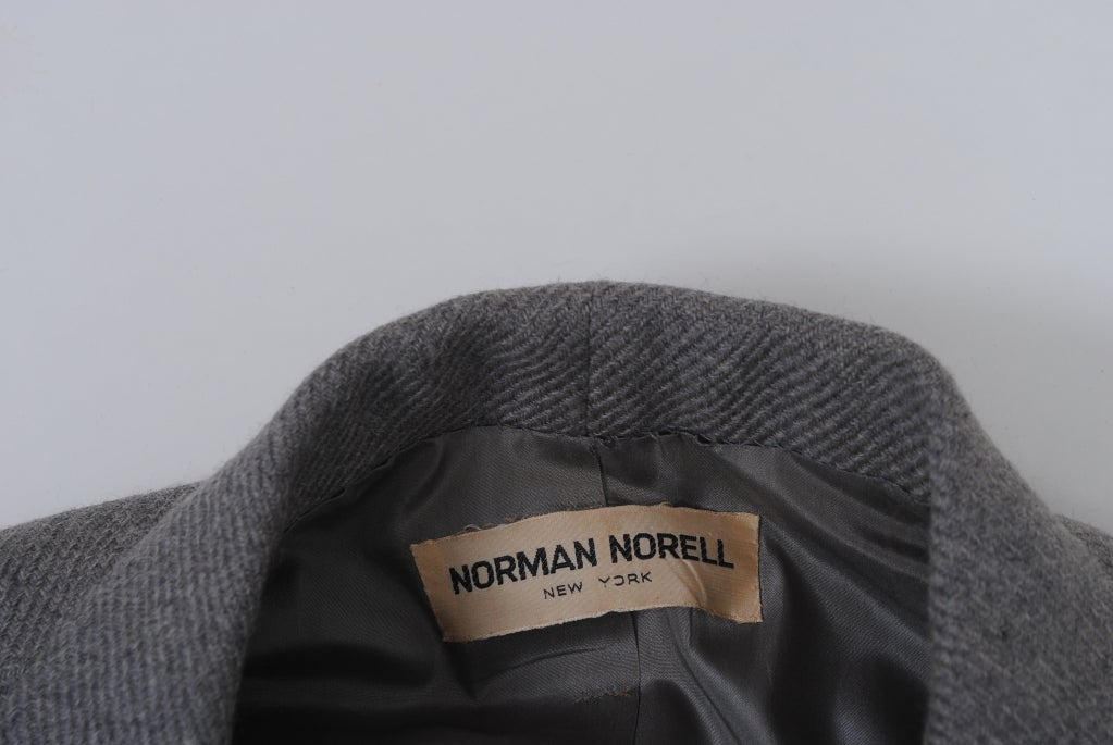 Norell Gray 1960s Suit 8