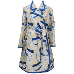 HANAE MORI COUTURE BROCADE COAT AND DRESS