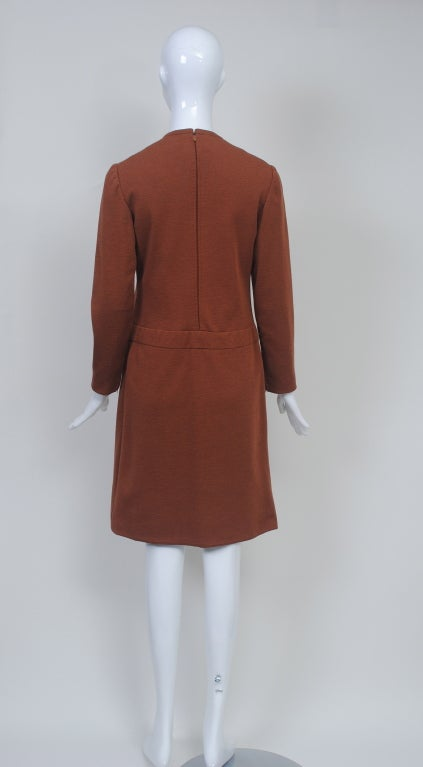 GEOFFREY BEENE SIENNA KNIT DRESS, c.1970 6