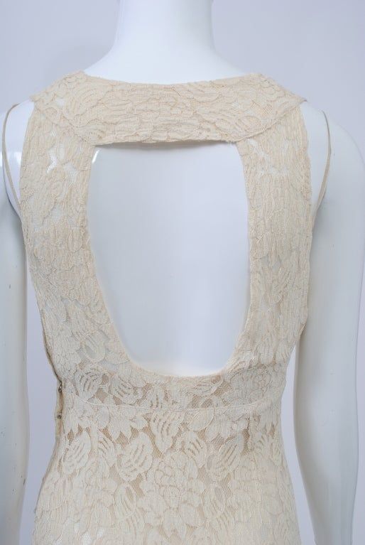 IVORY LACE 1930s WEDDING ENSEMBLE 10