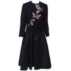 Hanae Mori Butterfly Dress