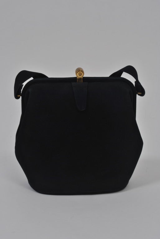 Koret Navy Suede Handbag 2