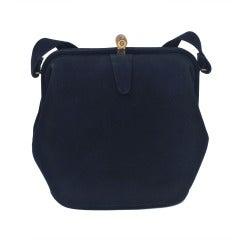 Koret Navy Suede Handbag