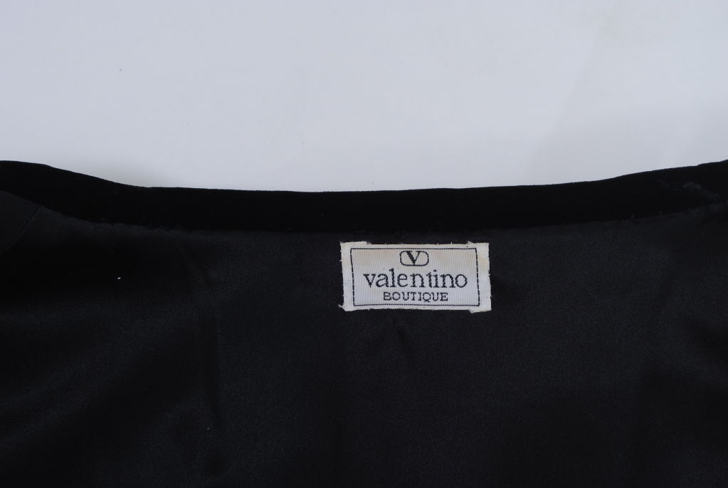 VALENTINO BLACK VELVET/METALLIC GOLD JACKET 5