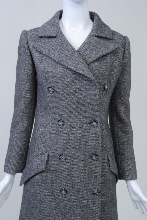 Guy Laroche '70S Tweed Coat and Skirt 4