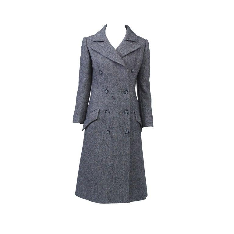 Guy Laroche '70S Tweed Coat and Skirt 1