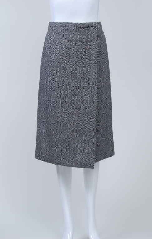 Guy Laroche '70S Tweed Coat and Skirt 5