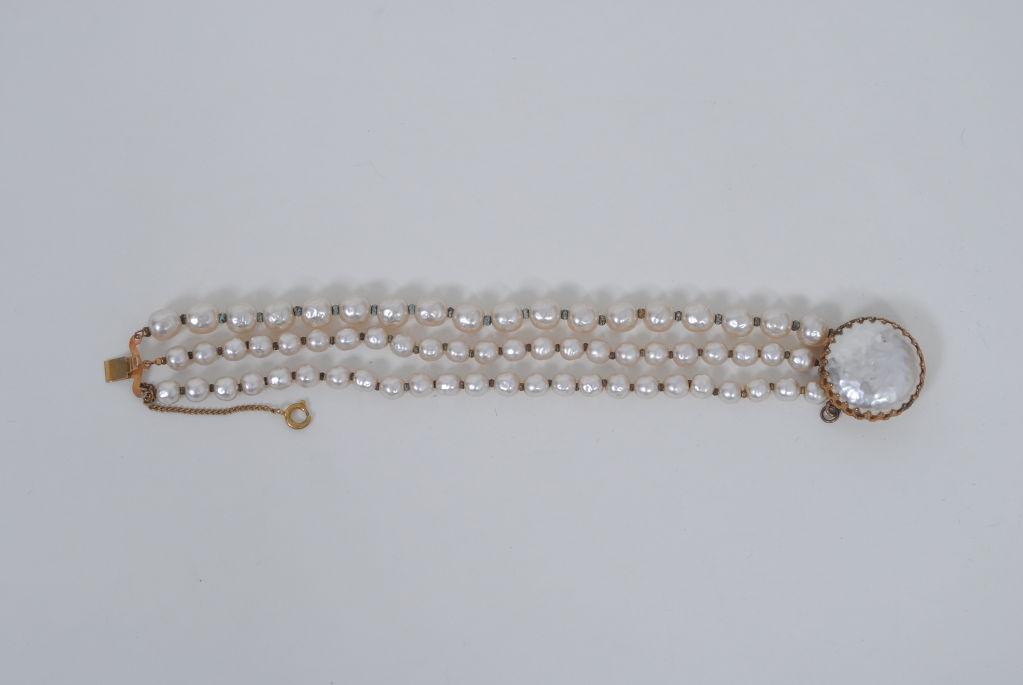 Miriam Haskell Pearl Bracelet 2
