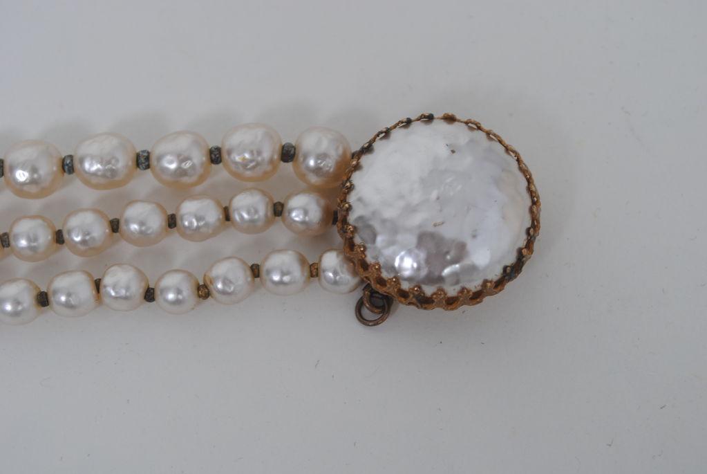 Miriam Haskell Pearl Bracelet 3