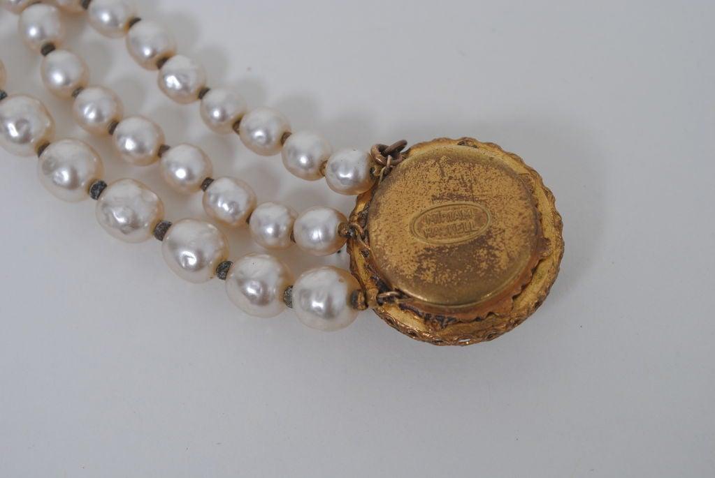 Miriam Haskell Pearl Bracelet 5