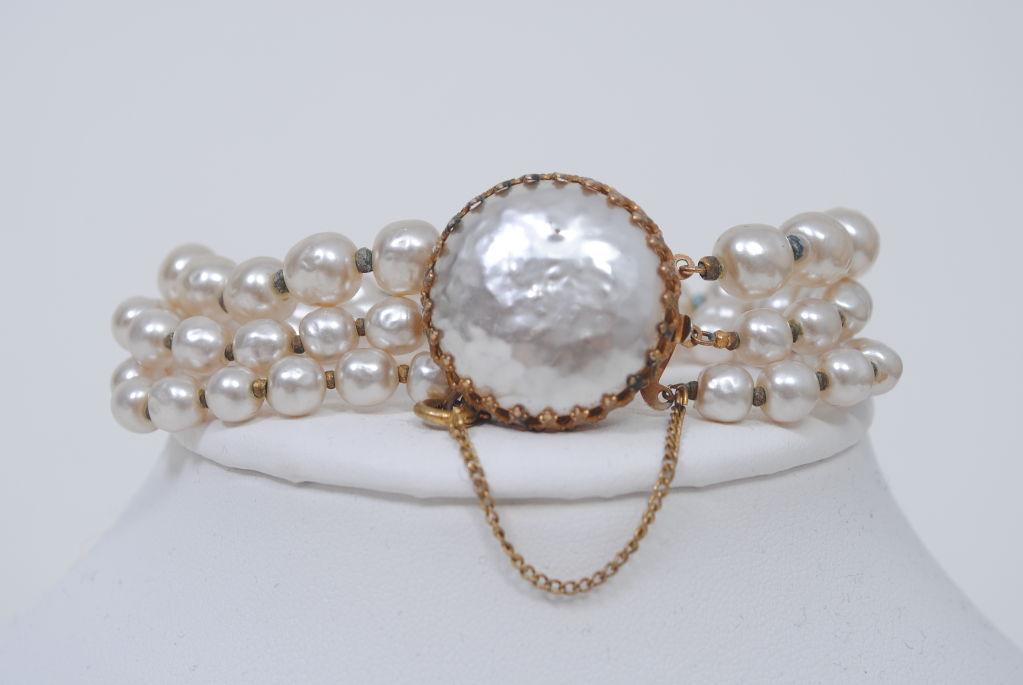 Miriam Haskell Pearl Bracelet 6