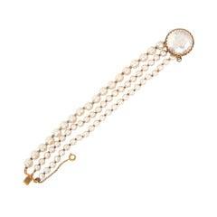 Miriam Haskell Pearl Bracelet