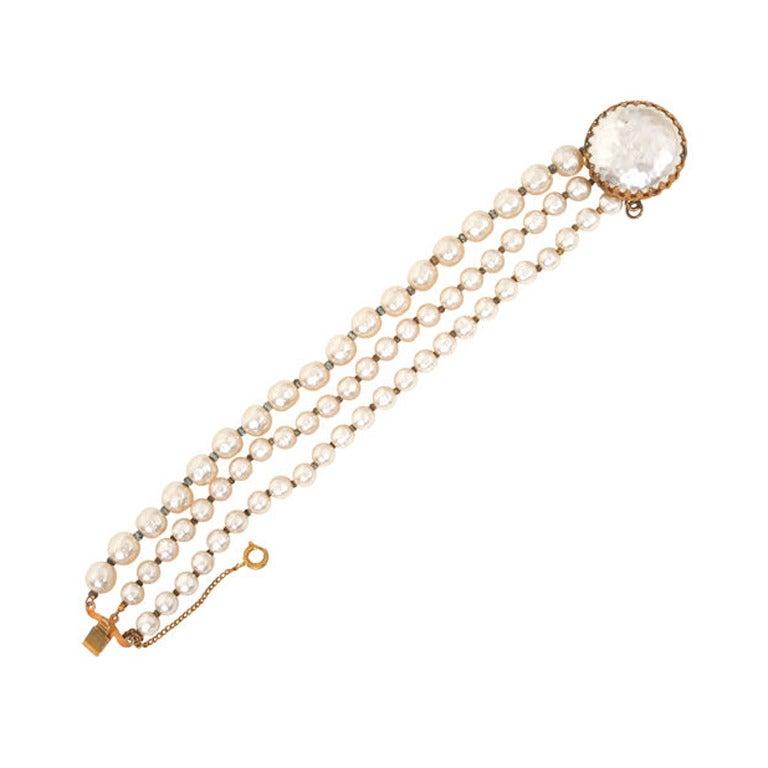 Miriam Haskell Pearl Bracelet 1