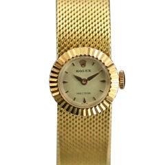 "ROLEX Yellow Gold ""Cameleon"" Lady's Wristwatch c.1960's"