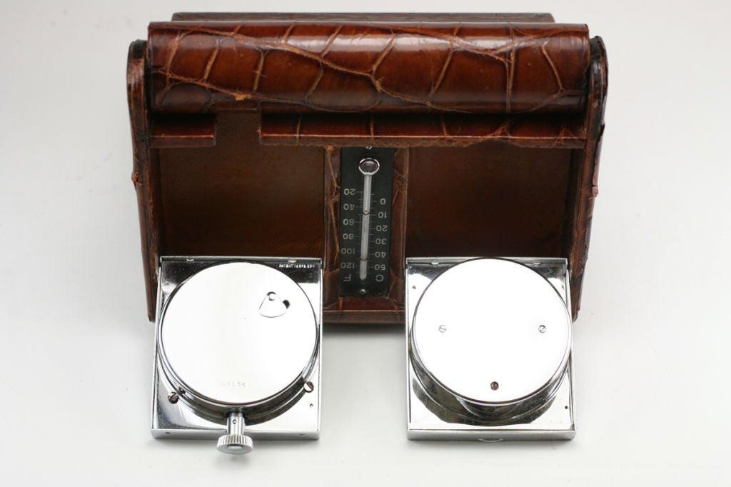 Vintage Jaeger Travel Clock Made For Hermes At 1stdibs